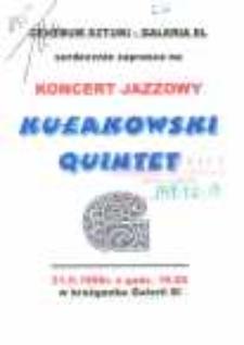"Leszek Kułakowski ""Quintet"" w Galerii El– zaproszenie na koncert"