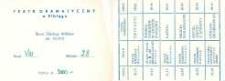 IV Elbląska Wiosna Teatralna: 16- 28.04.1988 r. – karnet wstępu