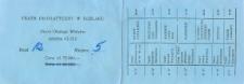 VI Elbląska Wiosna Teatralna: 9.04-14.05.1990 r. – karnet wstępu