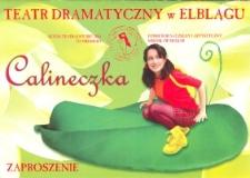 Calineczka - zaproszenie na spektakl