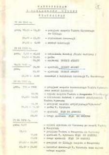 V Elbląska Wiosna Teatralna: 18 - 30 kwietnia 1989 r. – harmonogram