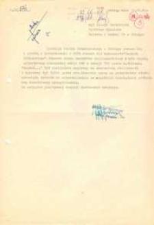Teatr Dramatyczny w Elblągu – pismo do WKiS UW w Elblągu