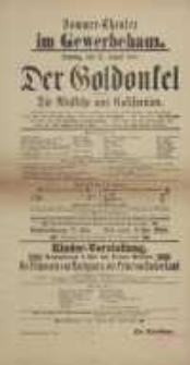 Der Gold-Onkel, oder: Die Rückkehr aus Californien (12.08. 1888 r.) - afisz