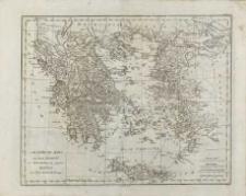 """Atlas do dzieła Barthélemy`ego Jeana-Jacquesa """"Voyage du jeune Anacharsis en Grèce"""""""
