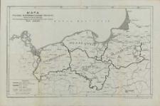 Mapa Podziału Administracyjnego Pomorza