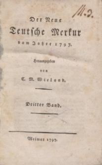 Der neue Teutsche Merkur, 1797, Nr. 9-12.
