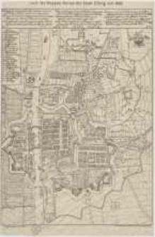 Abriss der Stadt Elbing von 1648