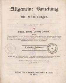 Allgemeine Bauzeitung mit Abbildungen, 1842