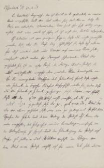 List z dnia 20.12.1919 r.