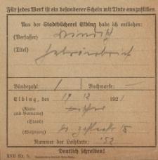 Rewers z 19.12.1921 r.