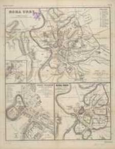 Karten zur alten Geschichte: Plan von Rom