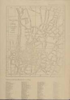 Übersichtsplan von Elbing ohne die äußeren Vorstädte