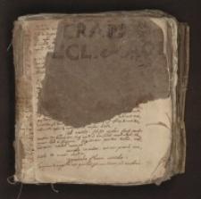 Oratio [Jan Cramer i jego uczniowie - zbiór rękopisów]