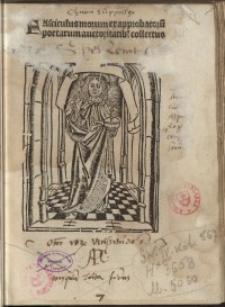 Fasciculus morum: ex approbatoru[m] poetarum auctoritatib[us] collectus