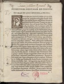 Epistolae in pontificatu editae...