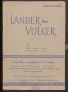Länder und Völker, 3. Heft/März 1937