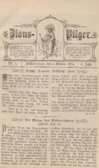 Zions-Pilger Nr. 1, 1. Oktober 1894, 4 Jahr.