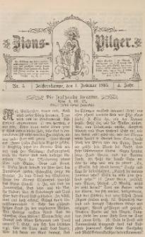 Zions-Pilger Nr. 5, 1. Februar 1895, 4 Jahr.