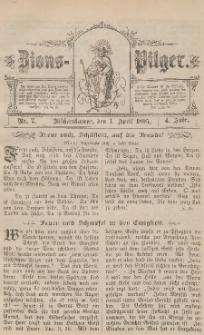 Zions-Pilger Nr. 7, 1. April 1895, 4 Jahr.