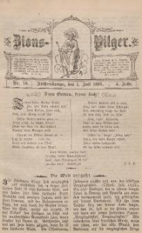 Zions-Pilger Nr. 10, 1. Juli 1895, 4 Jahr.