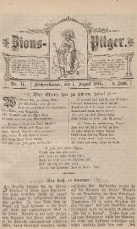 Zions-Pilger Nr. 11, 1. August 1895, 4 Jahr.