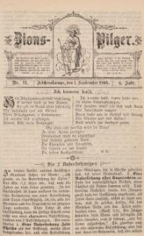 Zions-Pilger Nr. 12, 1. September 1895, 4 Jahr.