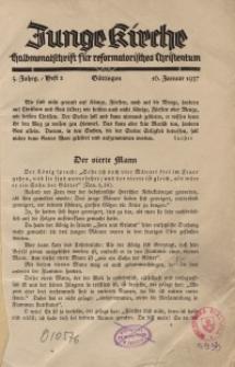 Junge Kirche, 1937/ Heft 2
