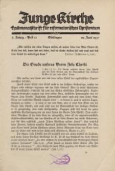Junge Kirche, 1937/ Heft 12