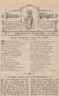 Zions-Pilger Nr. 3, 1. Dezember 1895, 5 Jahr.