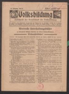 Volksbildung : Zeitschrift der Gesellschaft für Volksbildung, Jg. 46. 1916, H. 24