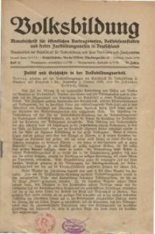 Volksbildung : Zeitschrift der Gesellschaft für Volksbildung, Jg. 59. 1929, [H. 12]