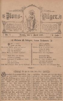 Zions-Pilger Nr. 7, 1. April 1897, 6 Jahr.