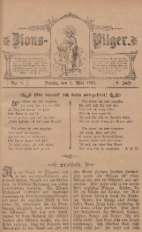 Zions-Pilger Nr. 8, 1. Mai 1897, 6 Jahr.