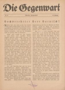 Die Gegenwart: Wochenschrift für Literatur, Kunst, Leben, 49. Jahrgang, 1920, H. 3/4