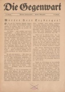 Die Gegenwart: Wochenschrift für Literatur, Kunst, Leben, 49. Jahrgang, 1920, [H. 7/8]