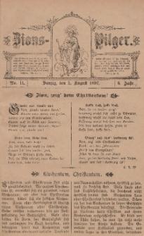 Zions-Pilger Nr. 11, 1. August 1897, 6 Jahr.