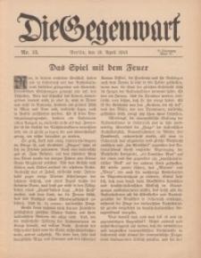Die Gegenwart: Wochenschrift für Literatur, Kunst, Leben, 44. Jahrgang, 1915, H. 15