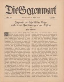 Die Gegenwart: Wochenschrift für Literatur, Kunst, Leben, 44. Jahrgang, 1915, H. 16