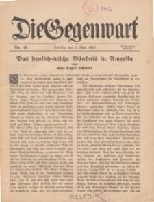 Die Gegenwart: Wochenschrift für Literatur, Kunst, Leben, 44. Jahrgang, 1915, H. 18