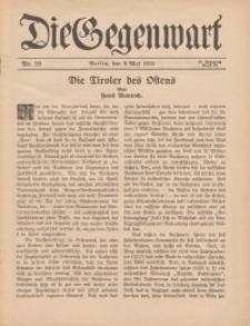 Die Gegenwart: Wochenschrift für Literatur, Kunst, Leben, 44. Jahrgang, 1915, H. 19