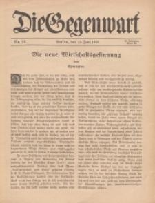 Die Gegenwart: Wochenschrift für Literatur, Kunst, Leben, 44. Jahrgang, 1915, H. 25
