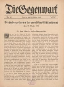 Die Gegenwart: Wochenschrift für Literatur, Kunst, Leben, 44. Jahrgang, 1915, H. 42