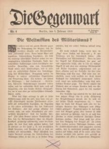 Die Gegenwart: Wochenschrift für Literatur, Kunst, Leben, 45. Jahrgang, 1916, H. 6