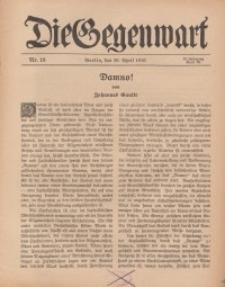 Die Gegenwart: Wochenschrift für Literatur, Kunst, Leben, 45. Jahrgang, 1916, H. 18