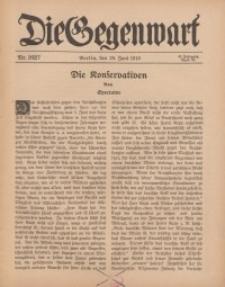 Die Gegenwart: Wochenschrift für Literatur, Kunst, Leben, 45. Jahrgang, 1916, H. 26/27