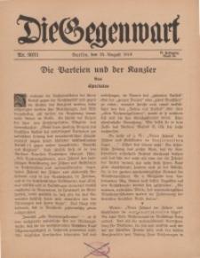 Die Gegenwart: Wochenschrift für Literatur, Kunst, Leben, 45. Jahrgang, 1916, H. 30/31