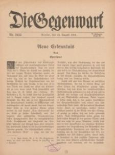 Die Gegenwart: Wochenschrift für Literatur, Kunst, Leben, 45. Jahrgang, 1916, H. 34/35
