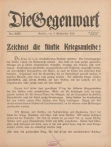 Die Gegenwart: Wochenschrift für Literatur, Kunst, Leben, 45. Jahrgang, 1916, H. 36/37