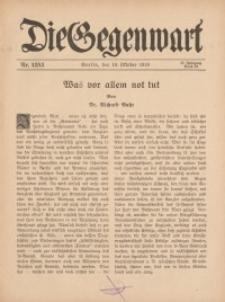 Die Gegenwart: Wochenschrift für Literatur, Kunst, Leben, 45. Jahrgang, 1916, H. 42/43