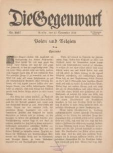 Die Gegenwart: Wochenschrift für Literatur, Kunst, Leben, 45. Jahrgang, 1916, H. 46/47